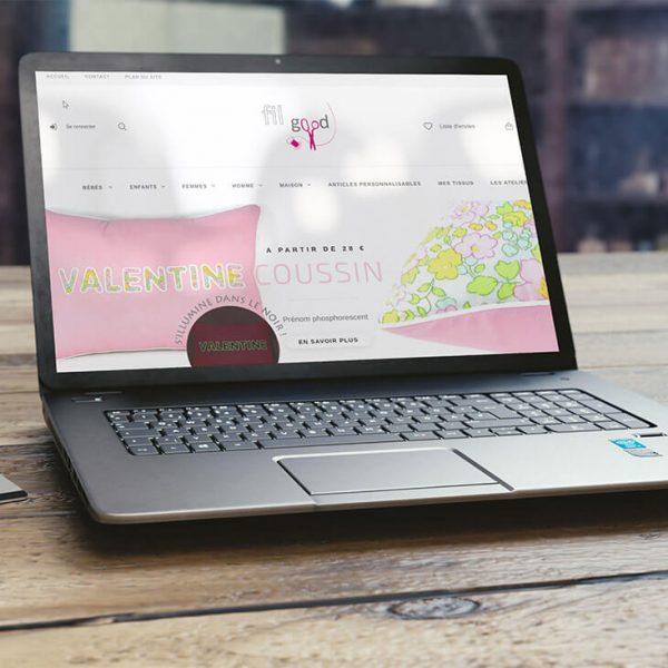 Fil Good – Modification site E-commerce